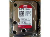 WD Red 3TB NAS hard drive WD30EFRX