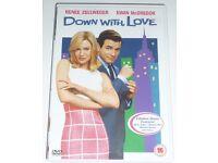 Down With Love DVD - Renne Zellweger & Ewan McGregor
