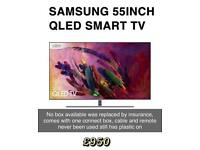 SAMSUNG QLED 55 INCH SMART TV