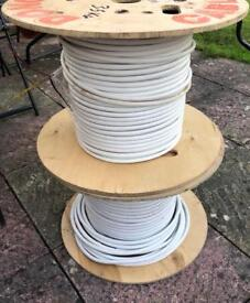 20Pair Telephone Cable, 2 Drums Different Lengths