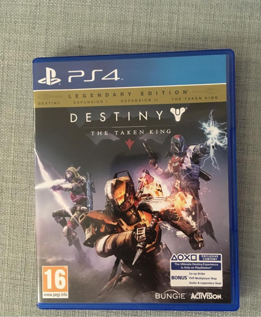 Destiny legendary edition ps4