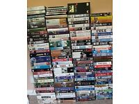 Extensive video collection, including several classics.