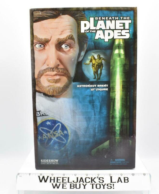 """Astronaut Brent Beneath the Planet of the Apes Sideshow 12"""" Figure MISB"""