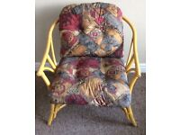 Large Comfortable Wicker Chair For Sale , Excellent Condition . No Offers