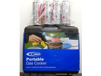 Portable gas cooker - NEW