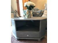 Grey distressed/shabby chic wooden furniture