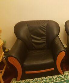 Free black sofa chair
