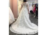 Stunning Grace Harrington Magnolia wedding gown dress - sample sale £499 ONO