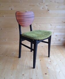 FOUR G PLAN BUTTERFLY DINING CHAIRS, MID CENTURY MODERN, ERCOL, E GOMME