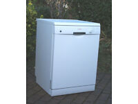 Bosch SMS40T32UK Full Size White Dishwasher in Excellent Condition
