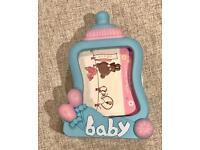 Baby photo frame / alarm clock