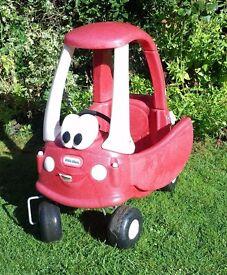Little Tykes red car