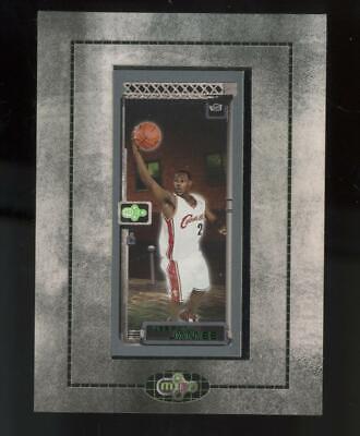 2003 Topps Matrix Mini Framed #111 LeBron James RC Rookie