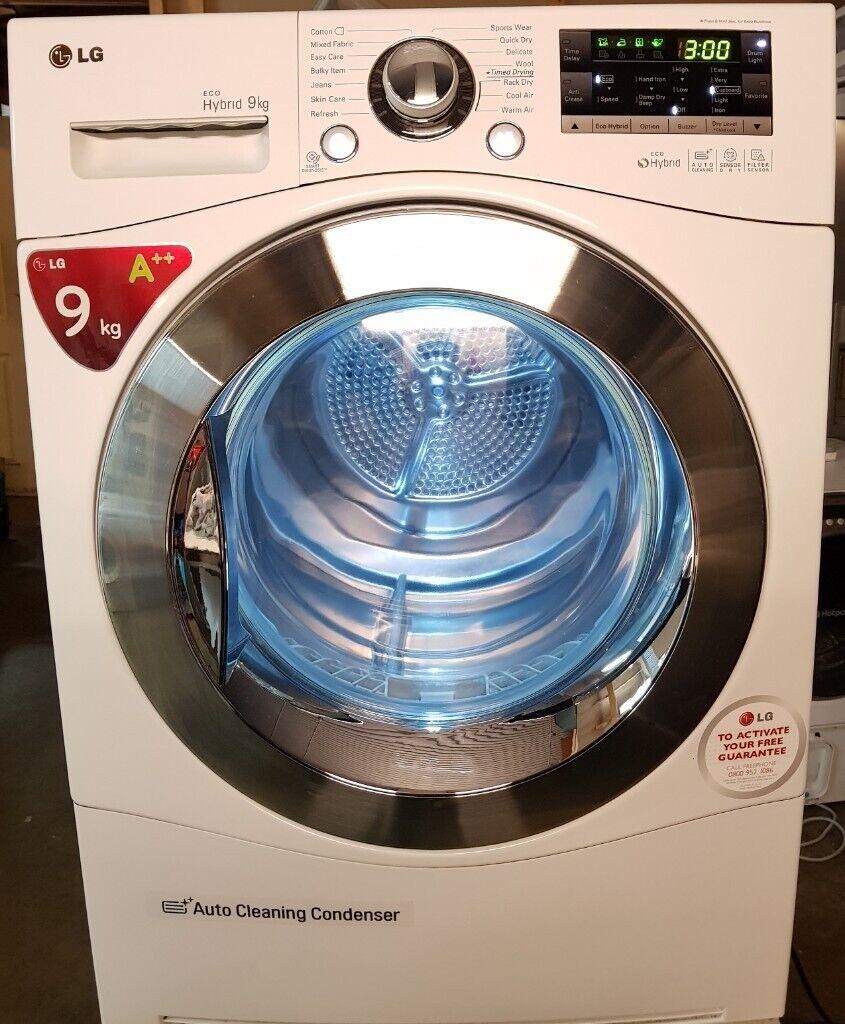 A++ Rated, 9kg LG RC9055AP2Z Heat Pump/Self-Cleaning Condenser Dryer!!! |  in Kingsbury, London | Gumtree