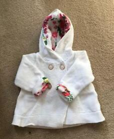 Girls Ted Baker Cardigan Age 3-6 Months