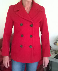 Red jacket by Gap size 10