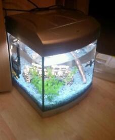 Aqua one fish tank filter and gravel