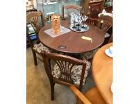 Oak Table/ 4 Chairs. CHRISTCHURCH