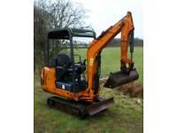 Hanix H15B Mini Digger 1.5 tonne