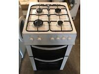 White LOGIK Fully Gas Cooker 50cm wide & Fully Working Order