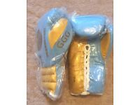 Brand New GGG Boxing Gloves ( Genuine Cowhide Leather ) with Fast Free Delivery