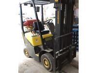 Gas Fork lift 1.5 tonne for sale ready for work