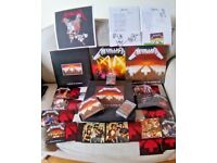 Master of Puppets - Metallica - Limited Edition GIANT boxed set - MINT