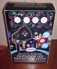 Multi Theme Outdoor LED Projector Light