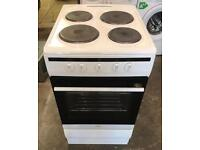 AMICA WHITE NICE ELECTRIC COOKER WITH WARRANTY & FREE DELIVERY