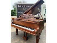 Decker Bros 6ft Oak Cased Grand Piano|Belfast Pianos| 🎹 Free delivery 🚚 📦