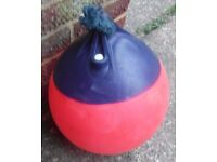 Buoy ....15 inches in Height x 12 inches in width for Dinghy Boat Tender