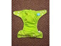 Charlie Banana One Size Cloth Nappy with 2 inserts | Lime Green | £20 | GREAT CONDITION | Leeds