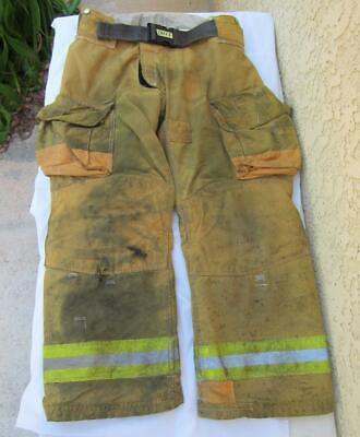 Lion Janesville Firefighter Fireman Turnout Gear Pants Size 36l - B E1
