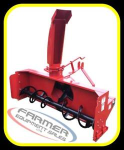 "NEW 3 point hitch tractor SNOW BLOWER, 50""- 80"" sizes,- IN STOCK NOW --- CANADA WIDE SHIPPING AVAILABLE"