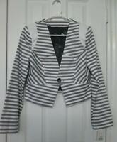 Striped short jacket - BRAND NEW NEVER USED