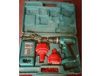 BARGAIN MAKITA CORDLESS DRILL WITH 2 BATTERY FULLY WORKING ORDER