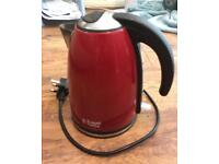 Red Russell Hobbs Cordless Kettle