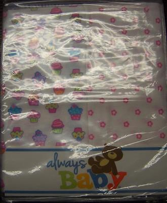 New 2 Pack Always Baby A Trademark of Gerber Flannel Receiving Blankets A Baby Flannel Blankets