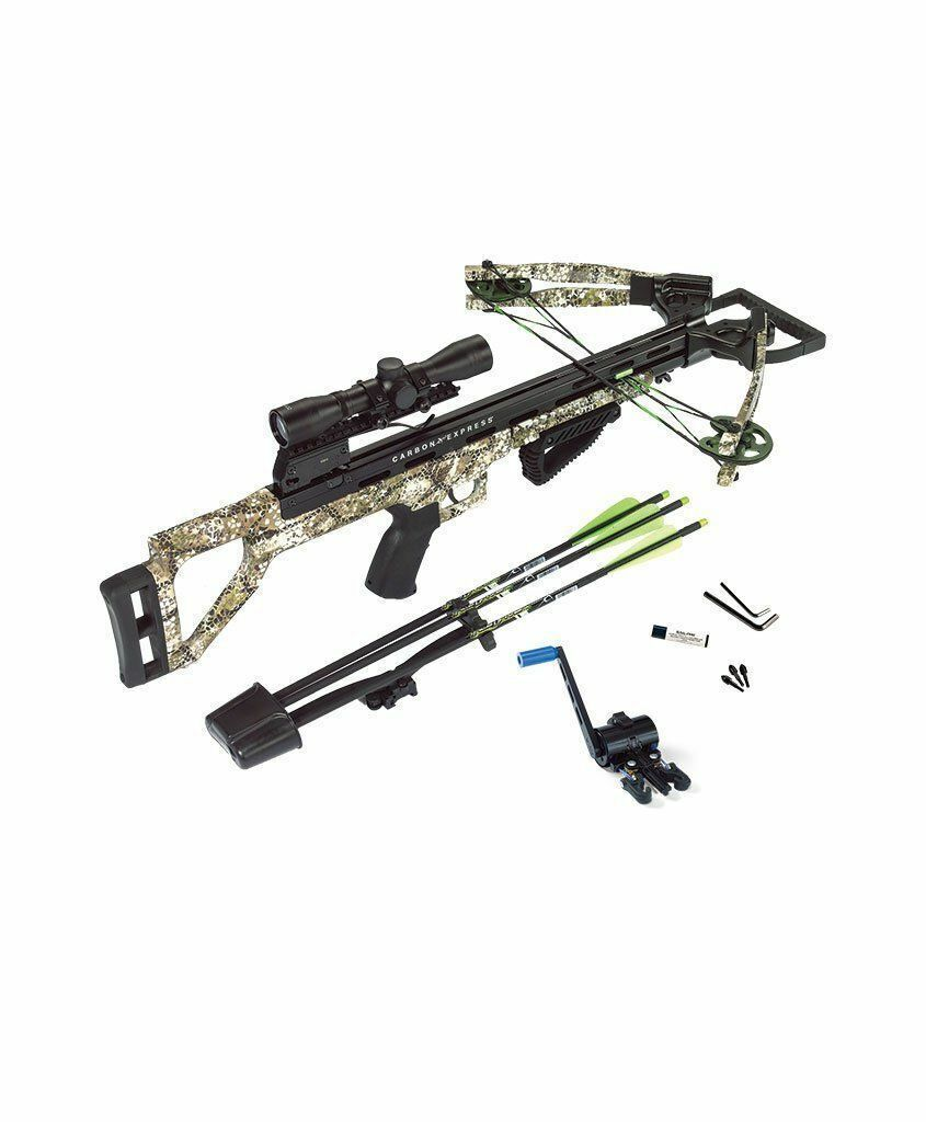 New Carbon Express Covert Tyrant 4x32 Crossbow Package W/ Cr