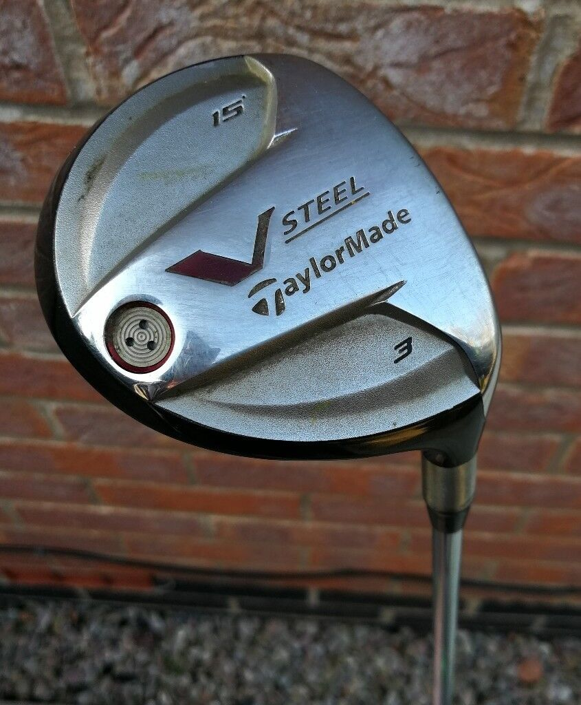 Golf Clubs -Taylor Made V Steel 3 Wood 15o With Head Cover | in ...