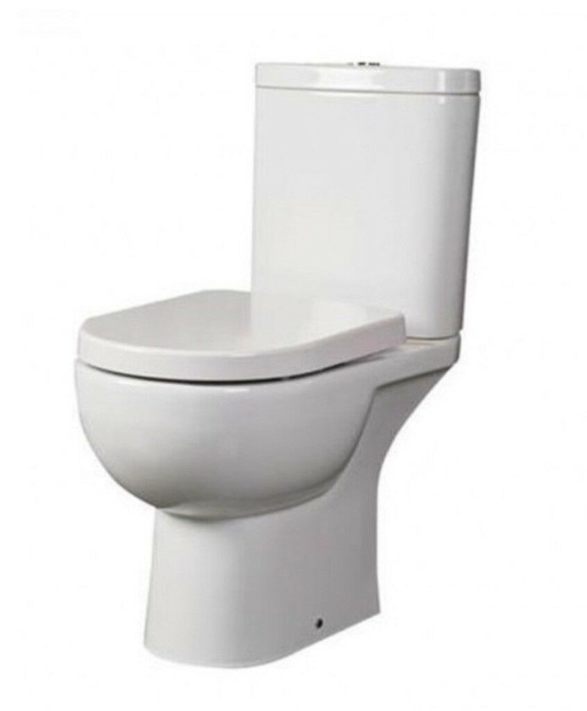 RAK Toilet - Close Coupled BTW - New in Box