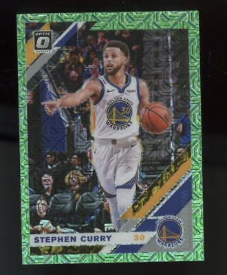 2019 Panini Donruss Optic Green Dragon #8 Stephen Curry Case Hit SP