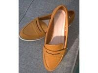 Women's Tan Loafers
