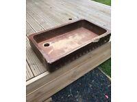 Belfast sink original antique trough planter pot garden rustic