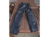 Weiss motorcycle leather trousers (womens)