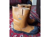 Himalayan Adult Unisex Rigger Warm lined Safety Boots Size 11
