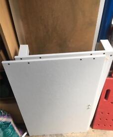 Ikea white wardrobe frame