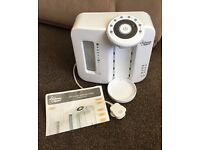 White Tommee Tippee Perfect Prep Machine with instructions.