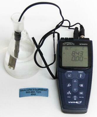 Vwr Scientific Symphony Sp80pc Multi-parameter Ph Meter Probe Included 4966