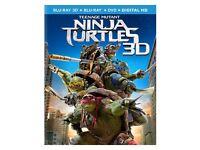 Teenage Mutant Ninja Turtles [Blu-ray 3D + Blu-ray]